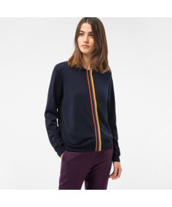 Paul Smith | Cardigan With Artist Stripe Placket