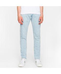 Paul Smith   Slim-Standard 13oz Unlucky Selvedge Light-Wash Denim Jeans