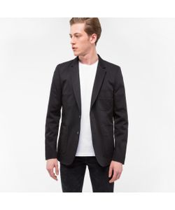 Paul Smith | Stretch-Cotton Patch Pocket Blazer