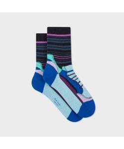 Paul Smith | Womens Shoe Stripe Socks
