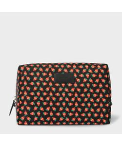 Paul Smith | Mens Strawberry Skull Print Wash Bag