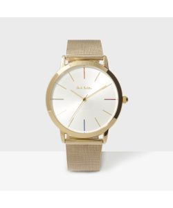 Paul Smith   Mens White And Ma Watch