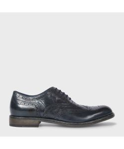 Paul Smith | Mens Dip-Dyed Calf Leather Blinky Brogues