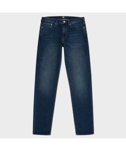 Paul Smith | Mens Tapered-Fit Crosshatch Stretch-Denim Jeans