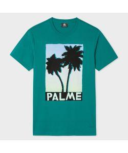 Paul Smith | Slim-Fit Palme Print Organic T-Shirt