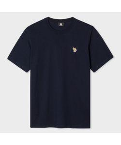 Paul Smith   Organic Zebra Logo T-Shirt