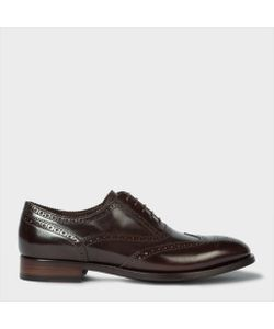 Paul Smith | Mens Dark Calf Leather Christo Brogues
