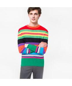 Paul Smith   Multi-Colour Cotton-Blend Summer Stripe Sweater