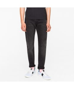 Paul Smith | Tapered-Fit 12oz Faded Super Stretch-Denim Jeans