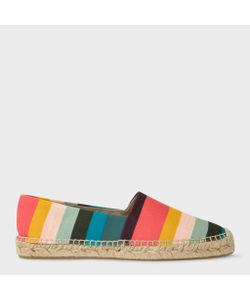 Paul Smith | Cotton-Canvas Sunny Espadrilles