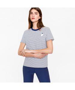 Paul Smith   Striped T-Shirt With Rabbit Logo