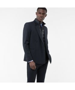 Paul Smith | Mens Wool And Mohair-Blend Double-Breasted Blazer