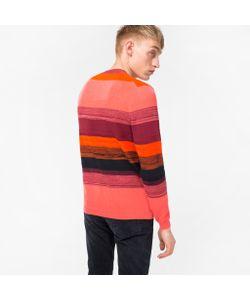 Paul Smith   Textured-Stripe Sweater