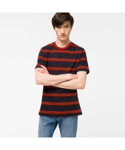 Paul Smith | Mens And Stripe Cotton T-Shirt