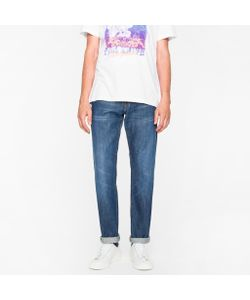 Paul Smith | Standard-Fit Mid-Wash 13.25oz Japanese Cast Jeans