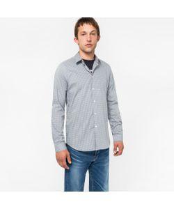 Paul Smith | Mens Slim-Fit Mini-Check Shirt