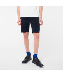 Paul Smith | Garment-Dyed Stretch Pima-Cotton Shorts
