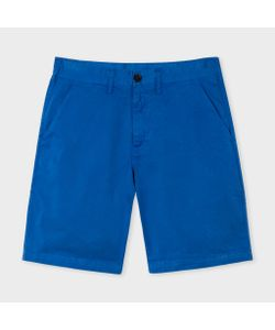 Paul Smith | Mens Washed Garment-Dyed Stretch Pima-Cotton Shorts