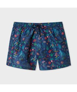 Paul Smith | Mens Botanical Jungle Print Swim Shorts