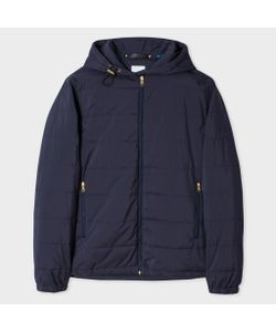 Paul Smith | Mens Wadded Zip-Front Hooded Jacket