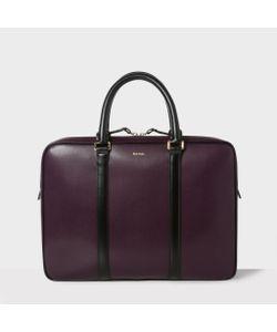 Paul Smith | Mens City Embossed Leather Slim Business Folio