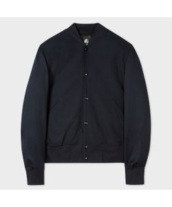 Paul Smith | Textured Varsity Bomber Jacket