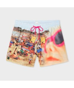 Paul Smith | Martin Parr Beach Print Swim Shorts