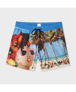 Paul Smith | Martin Parr Beach Print Swim Shorts
