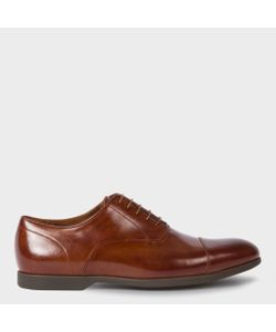 Paul Smith   Mens Leather Eduardo Oxford Shoes With Travel Soles