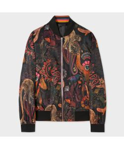 Paul Smith | Monkey Print Bomber Jacket