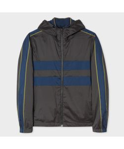 Paul Smith | Showerproof Hooded Jacket With Contrast Side-Stripes