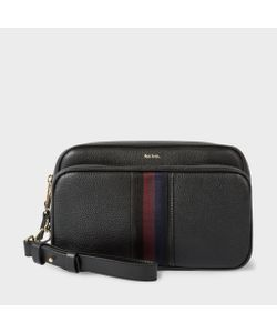 Paul Smith | Leather City Webbing Travel Bag