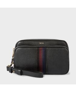 Paul Smith | Leather City Webbing Travel Bag