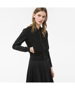 Paul Smith | Womens Lace Bomber Jacket