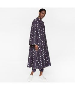 Paul Smith | Trapeze Coat With Daisy-Chain Print