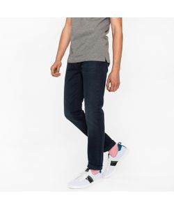 Paul Smith | Slim-Fit 11.8oz Over-Dyed Wash Super Soft Cross-Hatch Stretch Jeans