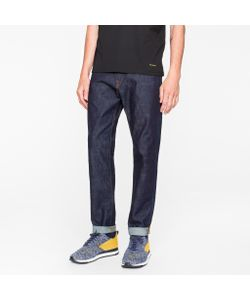 Paul Smith | Tapered-Fit 11.8oz Rinse Super Soft Cross-Hatch Stretch Jeans