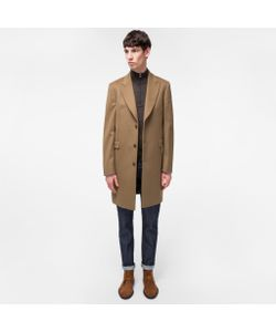 Paul Smith | Wool And Cashmere-Blend Peak-Lapel Epsom Coat