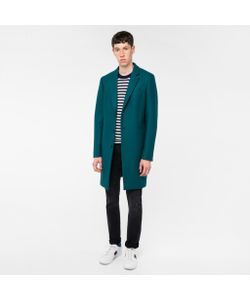 Paul Smith | Mens Wool-Cashmere Overcoat