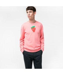 Paul Smith | Mens Strawberry Skull Loopback-Cotton Sweatshirt