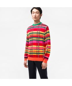 Paul Smith   Cotton-Blend Check Sweater