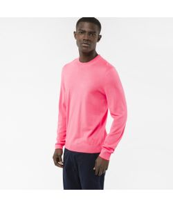 Paul Smith   Mens Merino Wool Sweater With Contrast Cuff Tipping