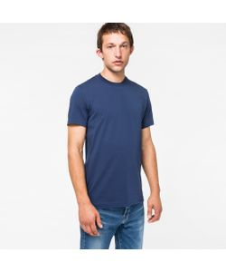 Paul Smith | Mens Slim-Fit Embossed Ps Logo Cotton T-Shirt
