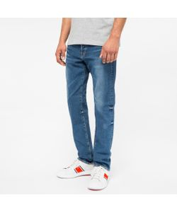 Paul Smith | Standard-Fit Mid-Wash Ozone-Wash Jeans