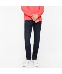 Paul Smith   Slim-Fit 14oz 4-Way Stretch Denim Dark-Wash Jeans