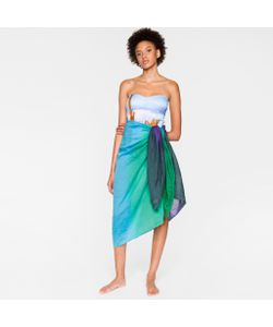 Paul Smith | Ombré Cotton-Silk Sarong