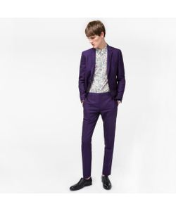 Paul Smith | Mens Slim-Fit Wool And Mohair-Blend Travel Suit