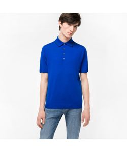 Paul Smith | Mens Merino-Wool Knitted Polo Shirt