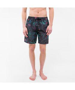 Paul Smith | Classic-Fit Cockatoo Print Long Swim Shorts