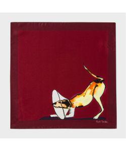 Paul Smith | Mens Dog Print Pocket Square